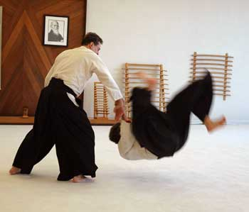 An Aikido Throw